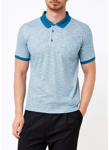Adze Polo Yaka Tişört Renkli